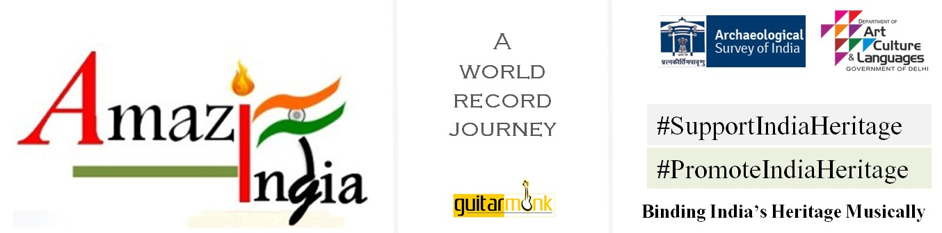 amazing india guitar journey heritage sites music promote support