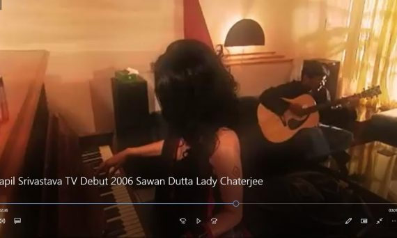Kapil Srivastava TV Debut 2005-2006 for Sawan Dutta Lady Chaterjee