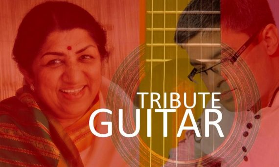 Guitar Tribute to Lata Mangeshkar Instrumental Bollywood Music Songs & Cover