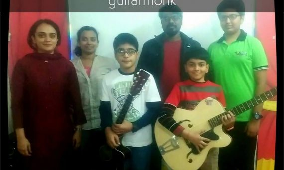 Guitar Classes in Rithala Delhi