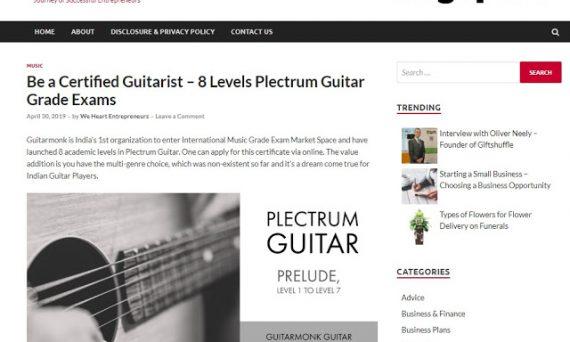 Singapore covers guitarmonk 8 level exams